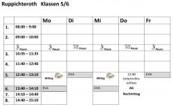Stundenplanvorlagen56R