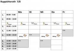 Stundenplanvorlagen78R