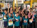 Die Sekundarschule Nümbrecht/Ruppichteroth beim Bonner Schulmarathon 2017